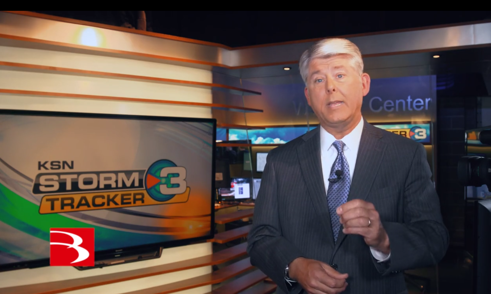 Chief Meteorologist Dave Freeman, with KSNW TV in Wichita, Kansas