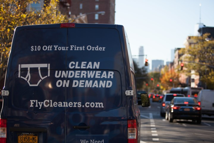 FlyCleaners runs on MapQuest