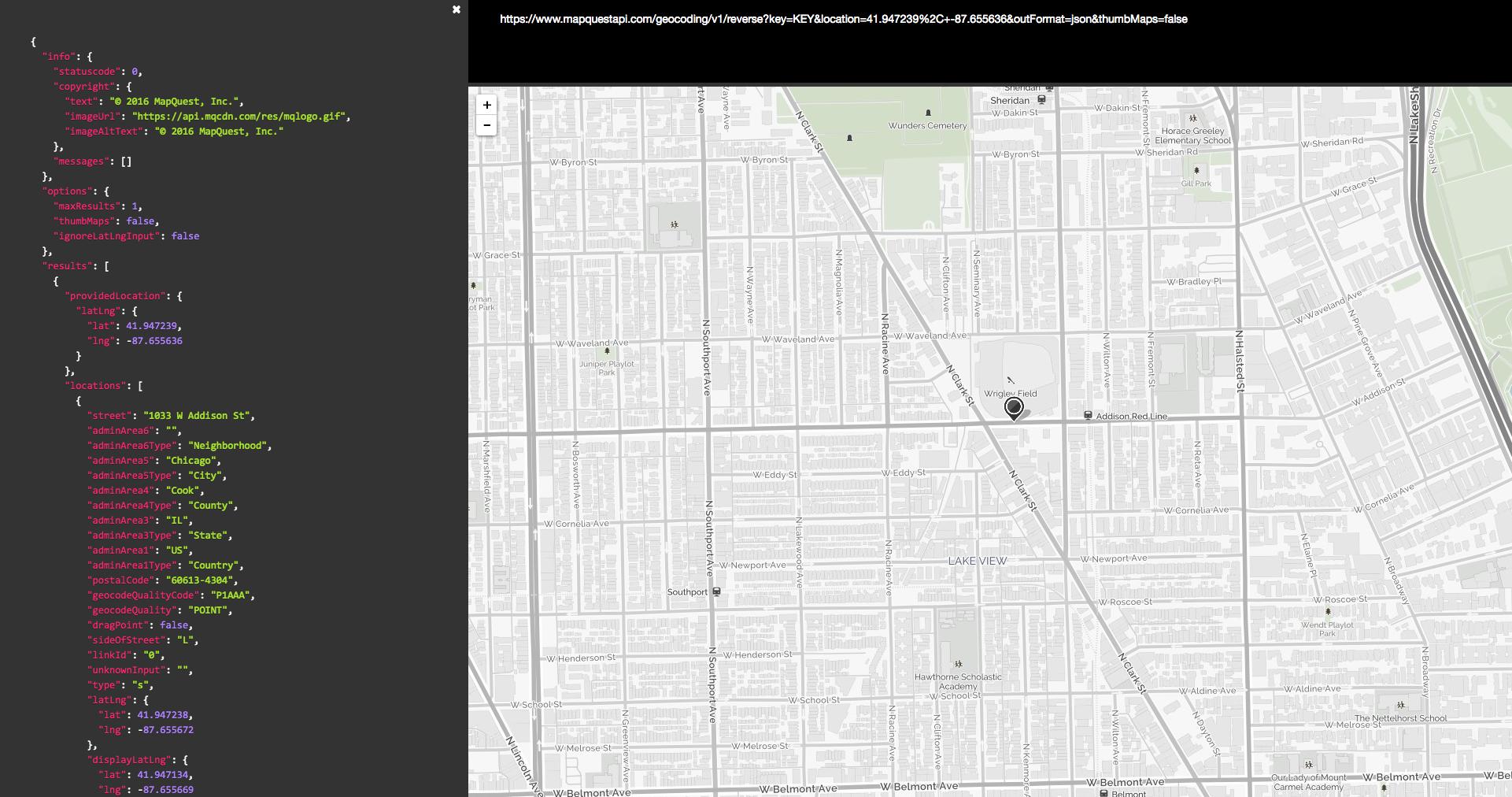 mapquest university geocoding