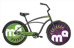 MapQuest's Street Team Bikes