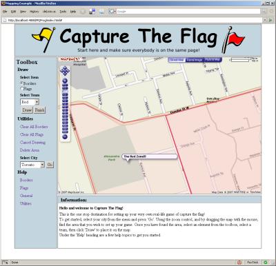 Capture The Flag Screenshot.